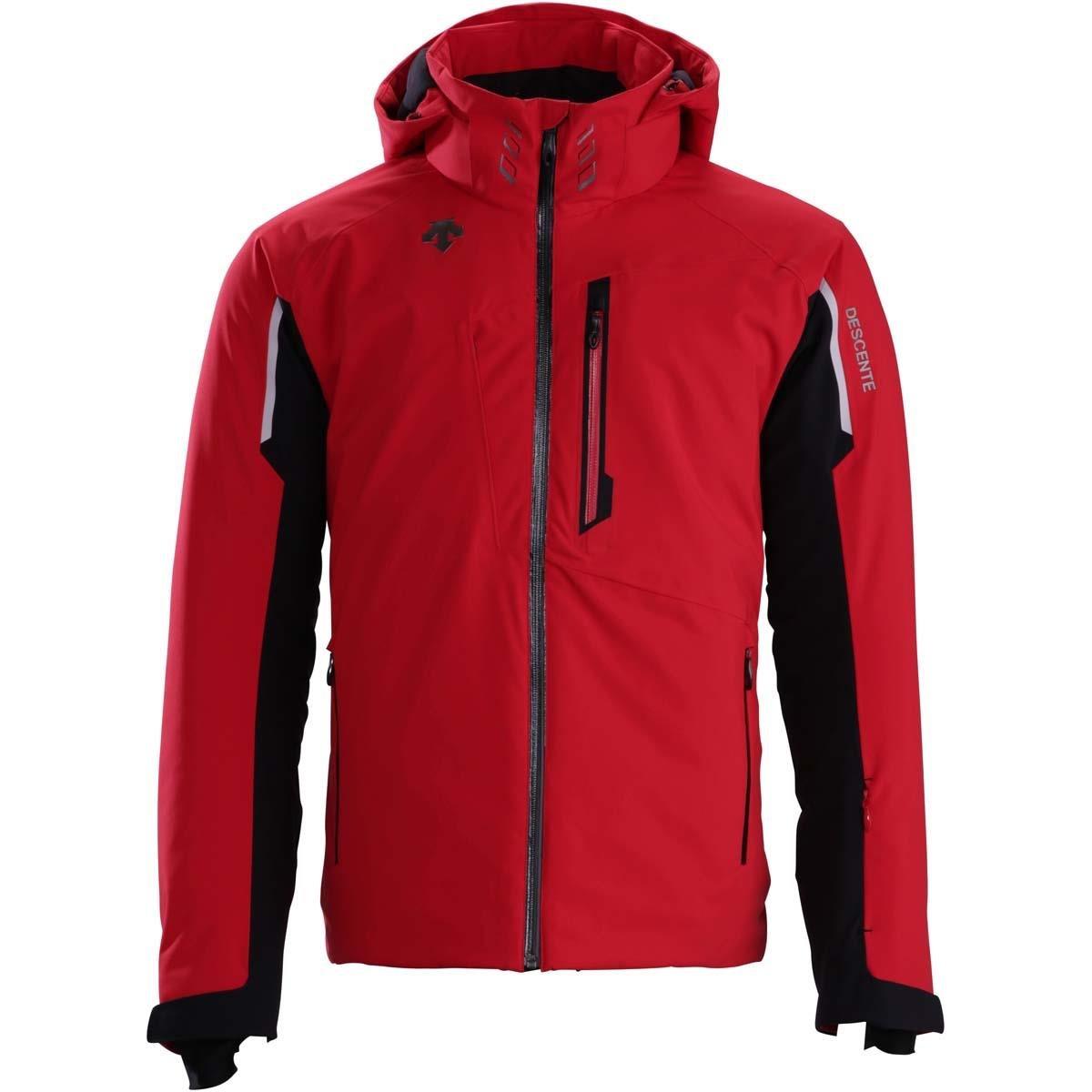 DescenteメンズTerroジャケット B073X75D6X Medium|Electric Red / Black Electric Red / Black Medium