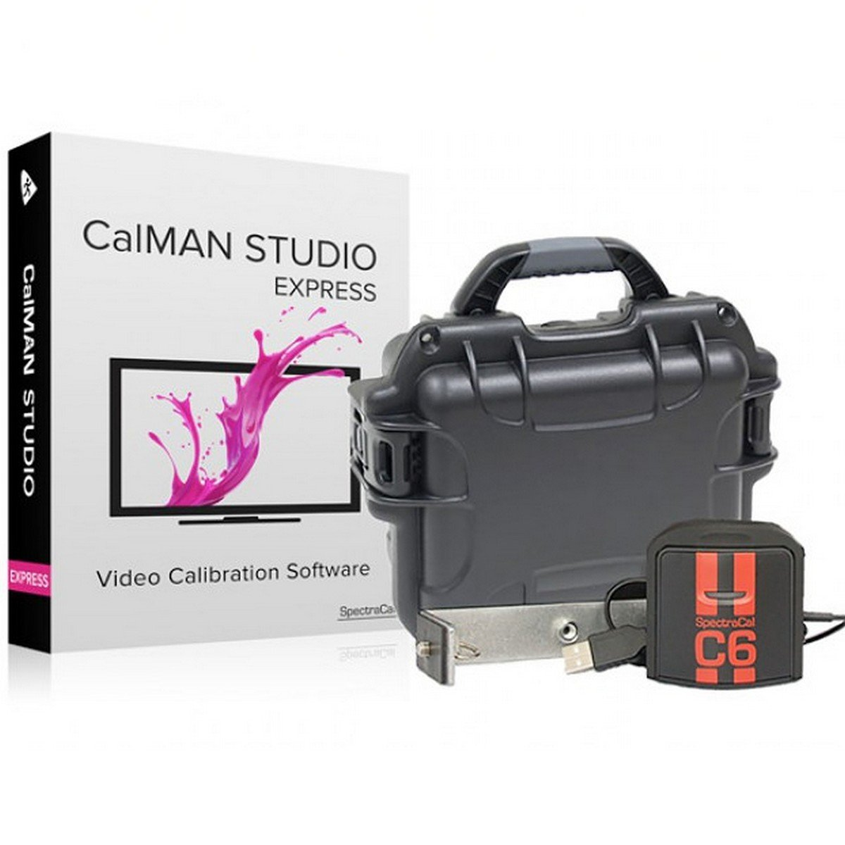 SpectraCal CalMAN Studio Express Bundle with C6 | Display
