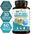 Biofinest Calm Mind Supplement - Premium Anxiety & Stress Relief - Herbal Formula Pills with Rhodiola Rosea Ashwagandha - To Soothe & Relax, Promote Calm, Positive Mood (60 Vegetarian Capsules)