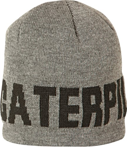 Caterpillar Heat Mens Dark Grey Hat Cap Warm Keep O1xOfqB
