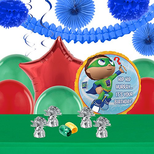 Super Why Childrens Birthday Party Supplies - Decoration Pack]()