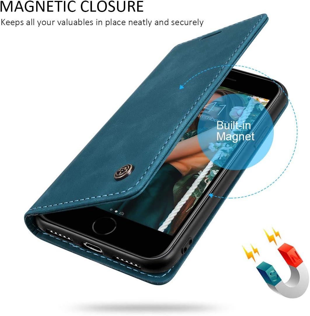 Azul-Verde 6.1 RuiPower para Funda iPhone 11 con Tapa Funda iPhone 11 Libro Fundas de Cuero PU Premium Magn/ético Tarjetero y Suporte Silicona Carcasa iPhone 11