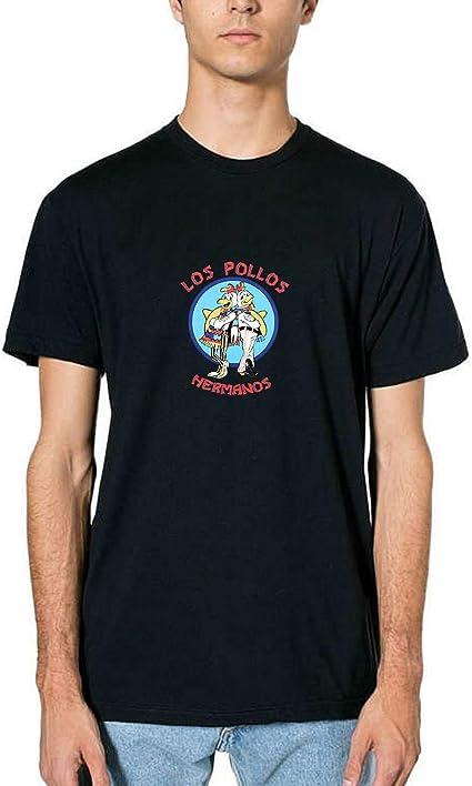 Los Pollos Hermanos Logo Inspired by Fan Art T-Shirt T Shirt Tshirt Camiseta para Hombres Hombre: Amazon.es: Ropa y accesorios