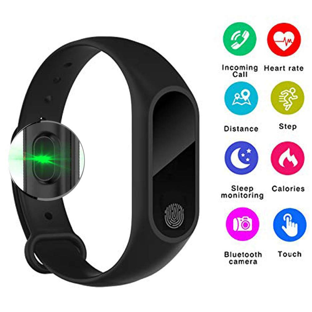 M2 IP67 Smart Bracelet Synchronous Motion Meter Step Counter Bracelet Gift Custom Cycling Heart Rate Monitors Bracelet Fitness Tracker Watch,Calorie Counter ...