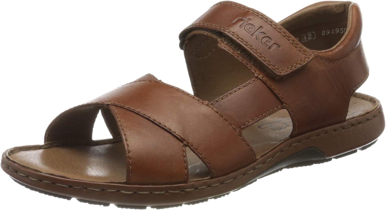 Rieker Minesota Herren Pantolette verschiedene Farben Sandaletten Sommerschuhe