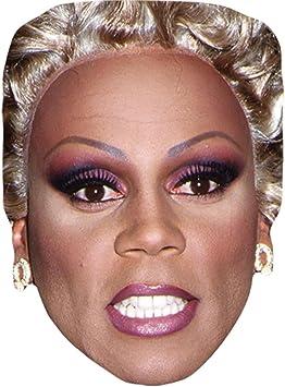 RuPaul Drag Card Face and Fancy Dress Mask Celebrity Mask