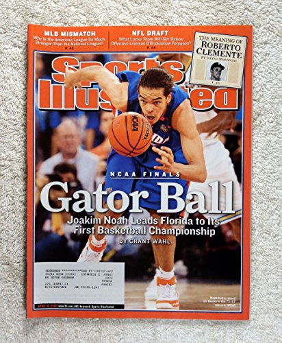 Joakim Noah - Florida Gators - 2006 National Champions! - Sports Illustrated - April 10, 2006 - UCLA Bruins - College Basketball - SI