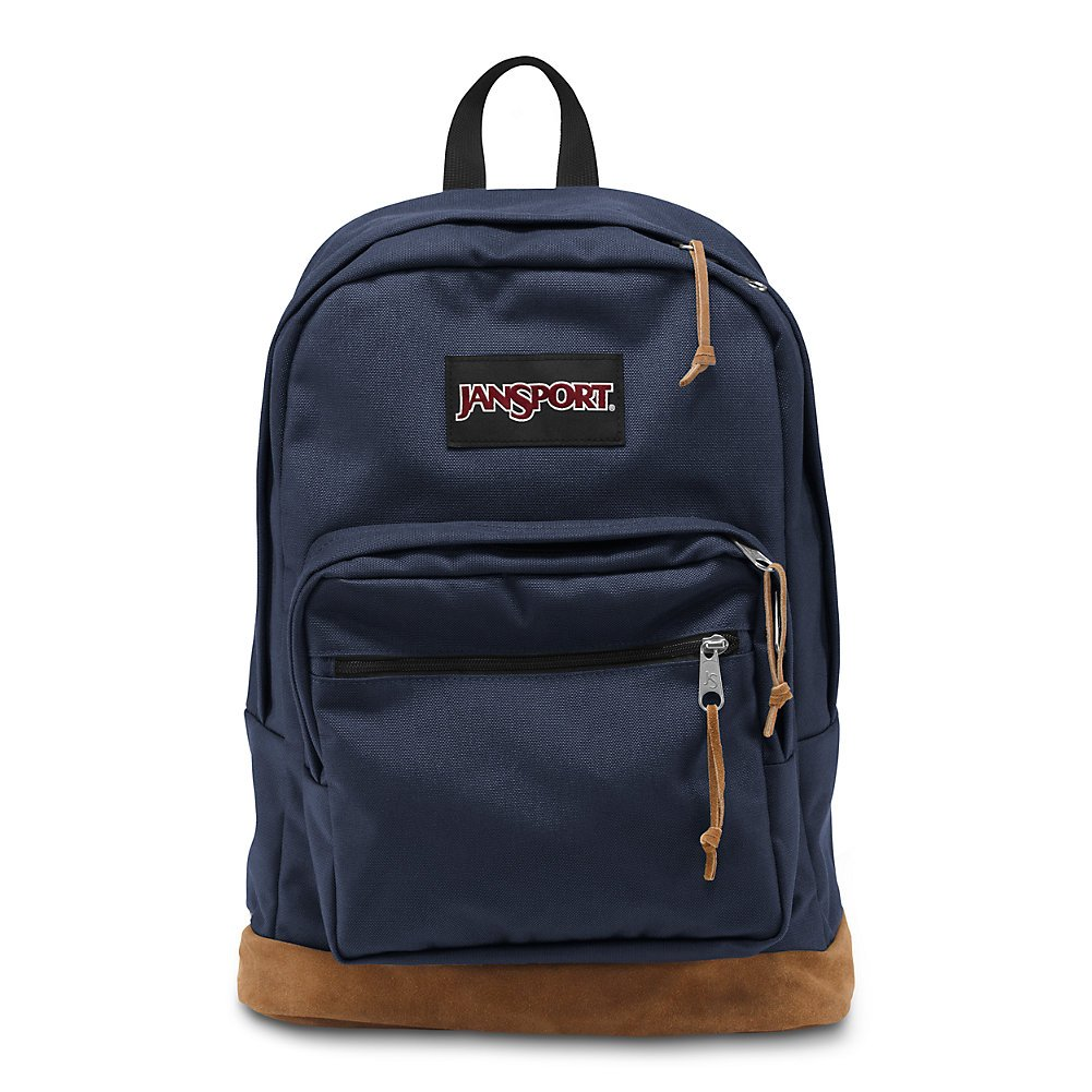 JanSport Right Pack 15 Inch Laptop Backpack – Any Occasion Daypack, Navy