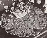 Vintage Crochet PATTERN to make - Pineapple Doily
