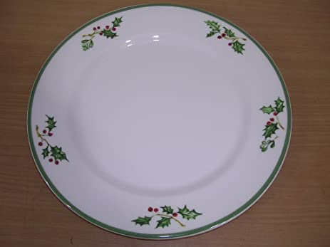 Amazon.com : Christopher Radko Holiday Celebrations Dinner Plate 11 ...