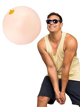 Diabolical - Balón de playa hinchable con forma de pecho ...