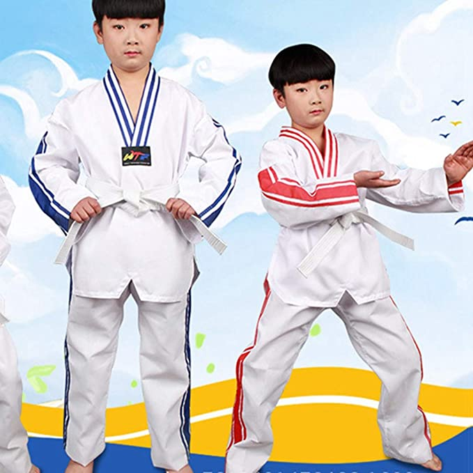 Amazon.com: Freahap Taekwondo Traje de Karate Uniform para ...