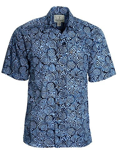 Price comparison product image Artisan Outfitters Mens Serenity Batik Shirt A0214-12 (4XL)