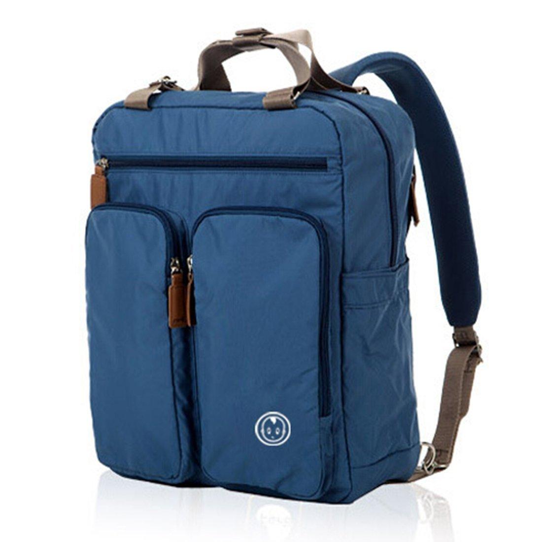VBag Baby Wickeltasche Reisetasche Rucksack Umhängetasche Passform Buggy Wickelauflage (blau)