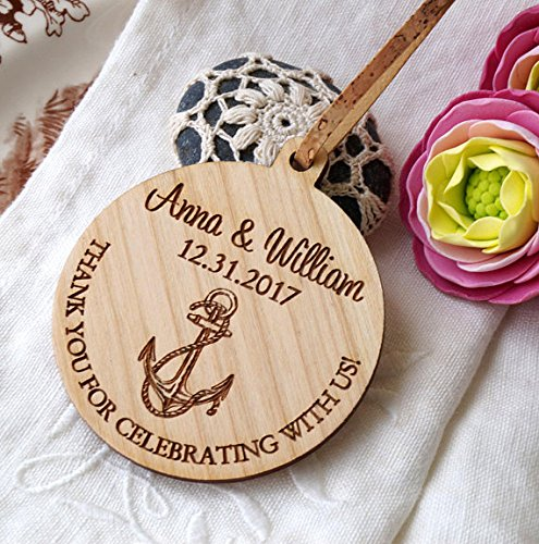 Amazon.com: Wedding ornaments, wedding favors, wooden wedding