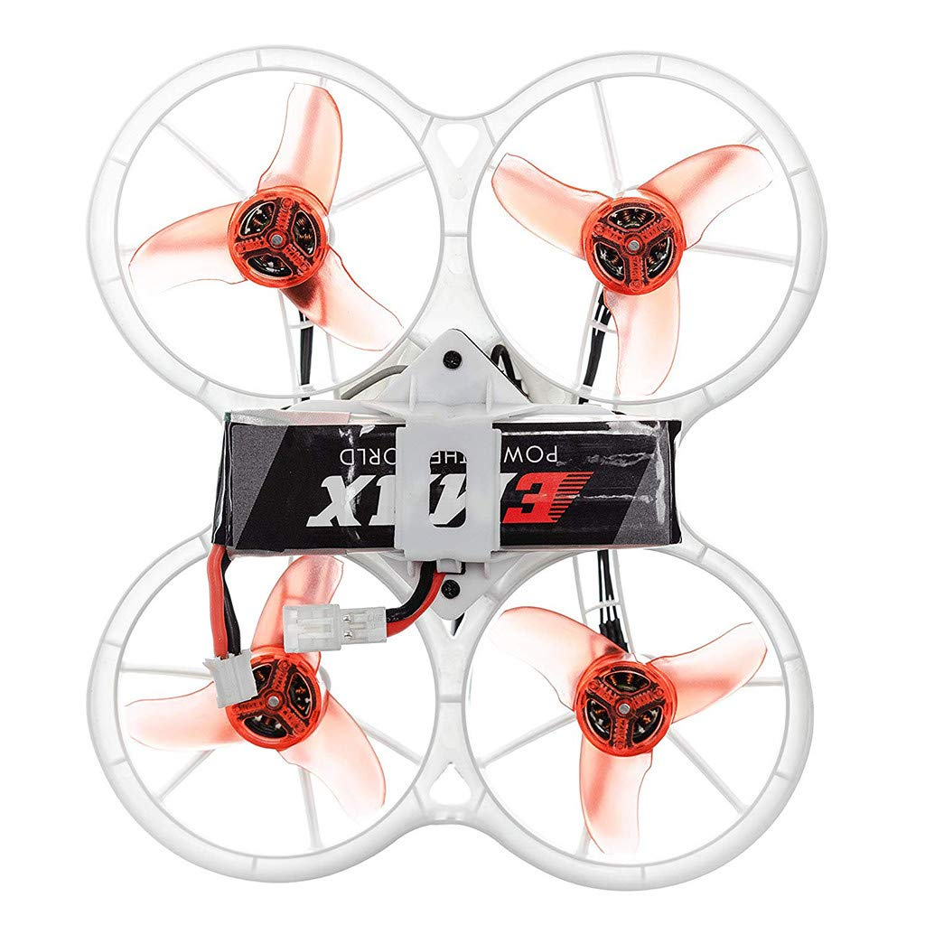 LuminitA EMAX Tiny Receiver Brushless Micro Indoor Racing Drone Whoop 75mm Ready to Fly FPV Beginners Durable Inverted Motors Full Acro Level Horizon Mode by LuminitA (Image #3)