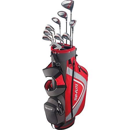 Amazon.com: Top Flite - Juego completo de palos de golf para ...