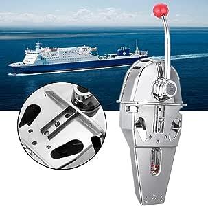 2pcs Boat Single Control Lever Marine Engine Outboard Control Handle Easy USA