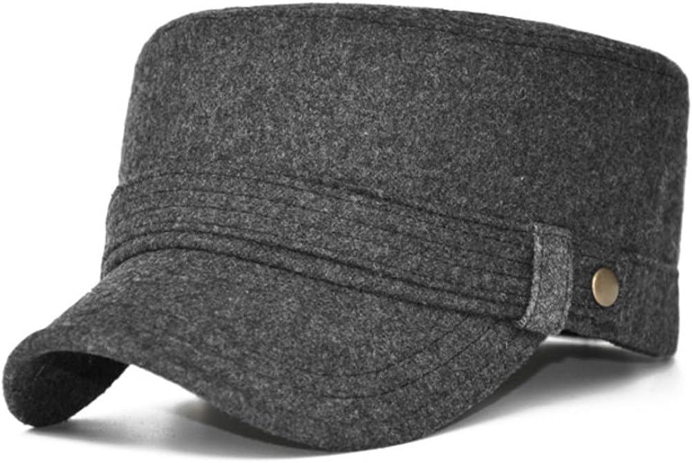 PLMWQAVDFN Autumn Hat Outdoor Wool Hats Warm Winter Cap Pile Cap Knit Baotou Cap