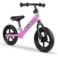 Rigo 12 Inch Kids Balance Bike - Pink