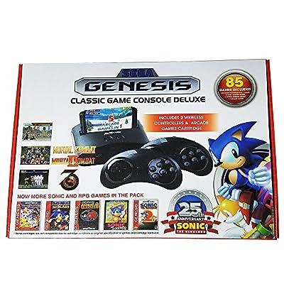 SEGA Genesis - Classic Game Player Deluxe 85 Built-in Games New 2016