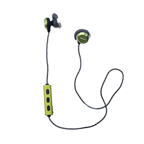 Toshiba Wireless Sports Earphone Rze Bt300e Green Amazon In