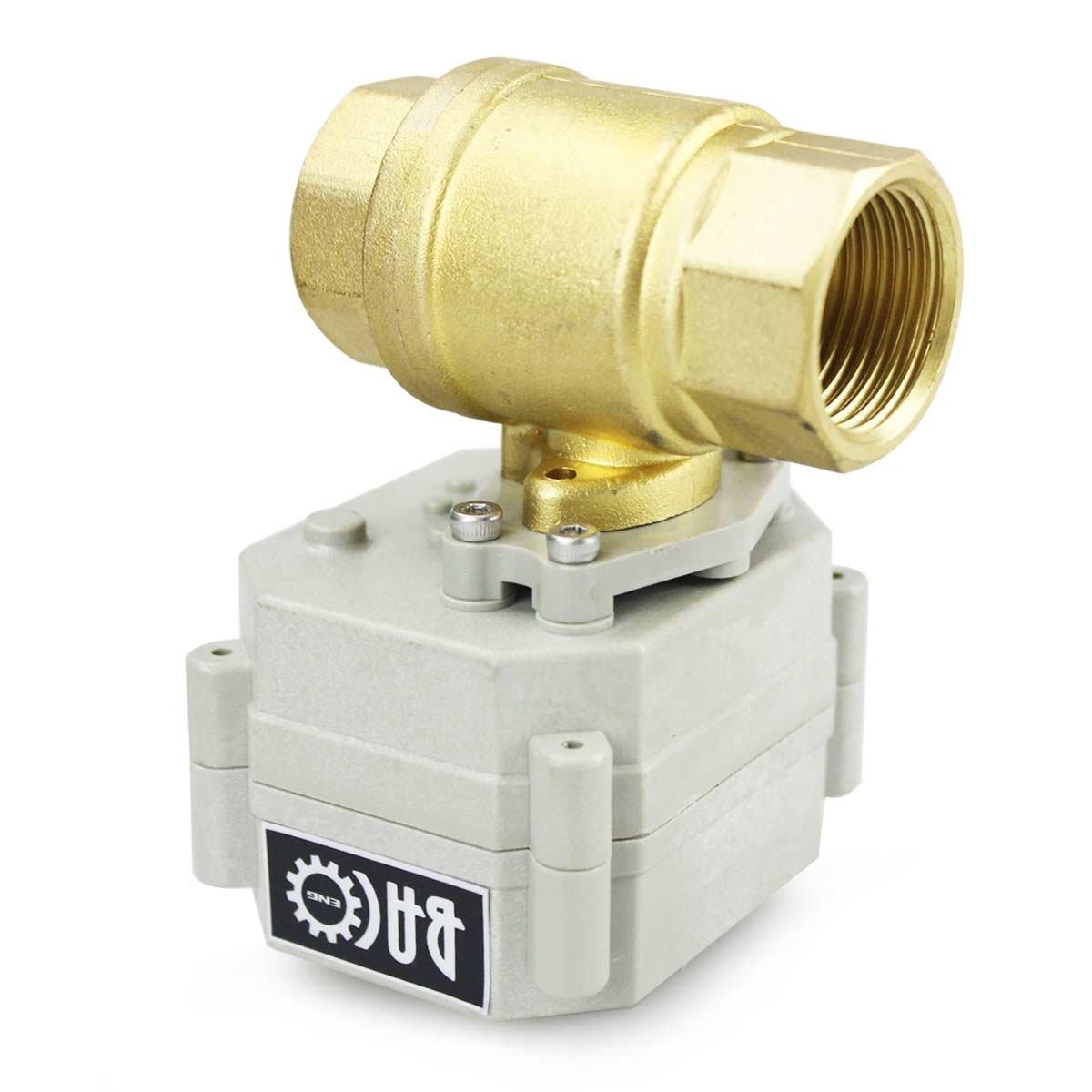 1 1//4 //valvola valvola motore BACOENG 1//2 elettrico Valvola a sfera CR202C di 2 cavi AC 110-230 V ottone//SS//a 3 Vie, 2 Vie, a vite//BSP 1 Brass