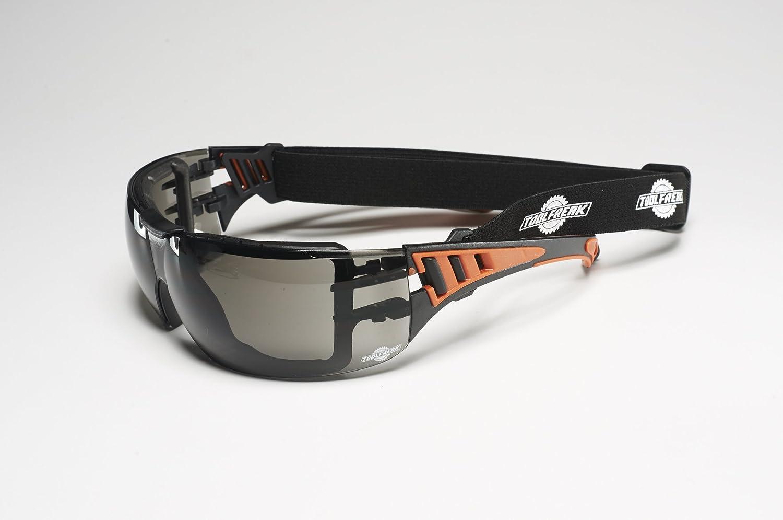 Gafas de Protección ToolFreak Con Fumar Lentes y Relleno de Espuma de Estilo Deportivo