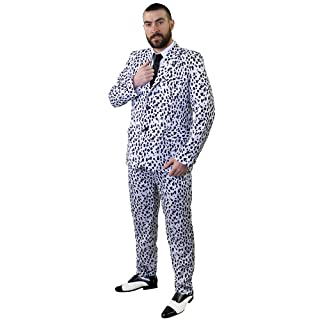 I Love Fancy Dress ilfd4579m Dalmata stampa tuta costume–Ideale come Halloween costume M ILFD4579M