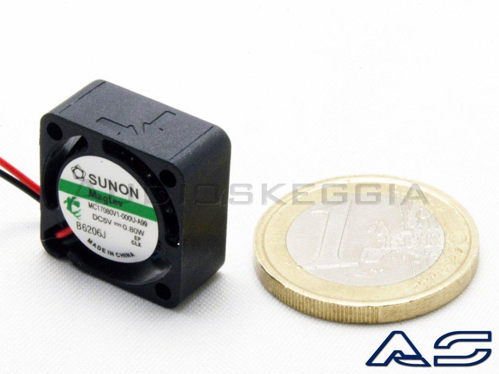 SUNON Ventola Micro 17x17 5Vdc per raffreddamento Stampanti 3D CPU Processori