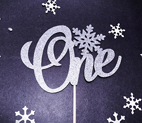 Winter Onederland Cake Topper, 1st Birthday Topper, Winter Onederland 1st Birthday, Winter Birthday