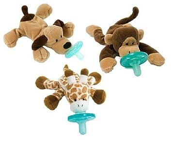 Amazon.com: Wubbanub Chupete Infantil 3-Pack – Elección ...
