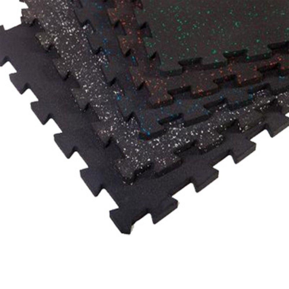 Rubber mats gym interlocking - Amazon Com Supermats Superlock Heavy Duty Weightlifting Mat Six Piece Pack Sports Outdoors
