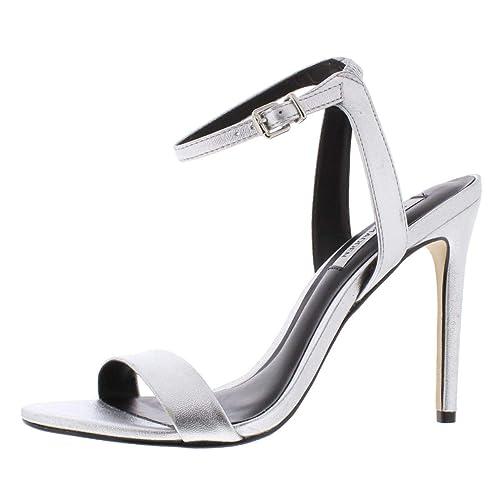 39236b01004 Steve Madden Womens Landen Stiletto Open Toe Sandal Shoes