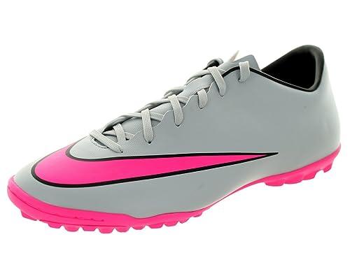 Nike Mercurial Victory V TF Fussballschuhe wolf grey-hyper pink-black-black - 44 8UGBPz