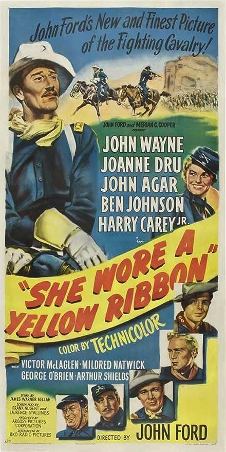 John Wayne She Wore A Yellow Ribbon POSTER