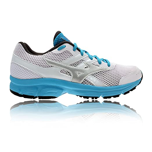 Mizuno Running Shoes Sneaker Woman Spark White Turquoise 36.5