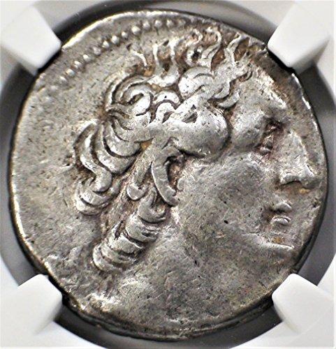 Silver Tetradrachm Ancient Greek Coin - EG 285/4-246 BC Ptolemaic Kingdom King Ptolemy II Ancient Silver Antique Coin AR Tetradrachm Very Fine NGC