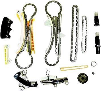 K w//o Gears 1997-2005 E Ford Explorer Mustang Ranger Sport Trac Land Rover LR3 Discovery Range Rover Mazda B4000 Mercury Mountaineer 4.0L V6 245CID 4016CC 4009CC 3950CC SOHC Timing Chain Kit VIN 4