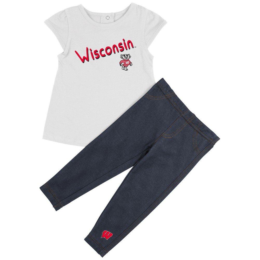 【最安値】 University of Wisconsin Wisconsin Badgers University Girls ' of TeeシャツとJeggingsセット 6-12 M B00U2TZ6RG, arne(インテリア家具と雑貨):ec6544bc --- a0267596.xsph.ru