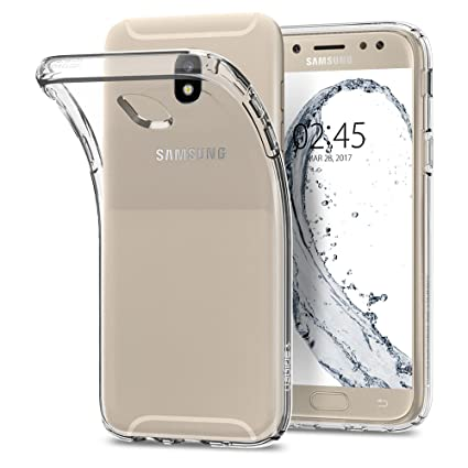 hot sale online fba79 3bd30 Spigen Liquid Crystal Designed for Samsung Galaxy J5 Pro Case (2017) -  Crystal Clear