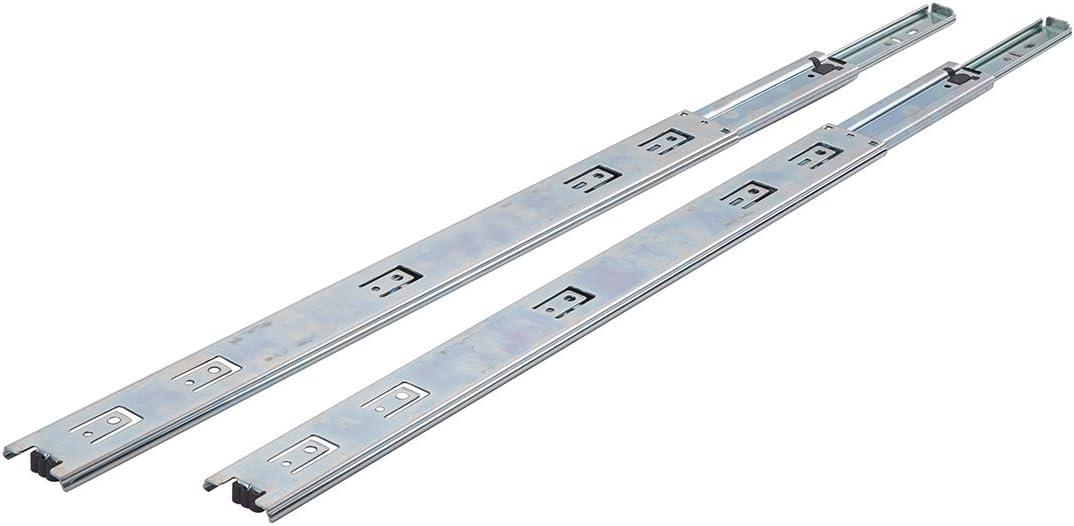 Schubladenschienen mit Kugellager Basics 457/mm 10/Paar Stahl