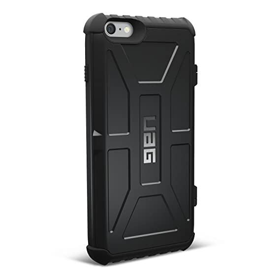 uk availability 850cc 76740 UAG iPhone 6 Plus / iPhone 6s Plus [5.5-inch screen] Trooper Card Case  [BLACK] Military Drop Tested iPhone Case