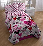 "Disney Minnie Mouse Classic ""Remix"" MF Comforter, Full"