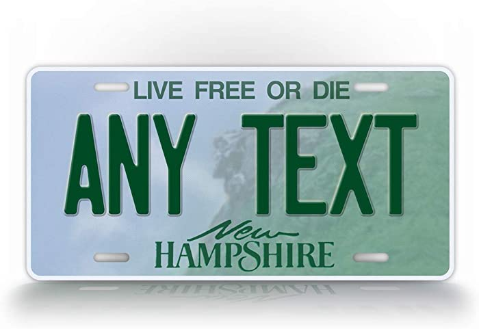 Top 10 Nh License Plate Decor