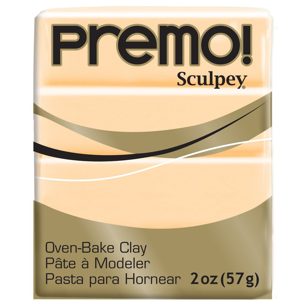 Sculpey PE02 5572 Oven Bake Clay premo!-Cadmium Yellow Hue Polyform Products