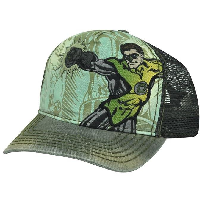 DC Comics La Linterna Verde Ajustable Snap-Back Gorra de béisbol ...