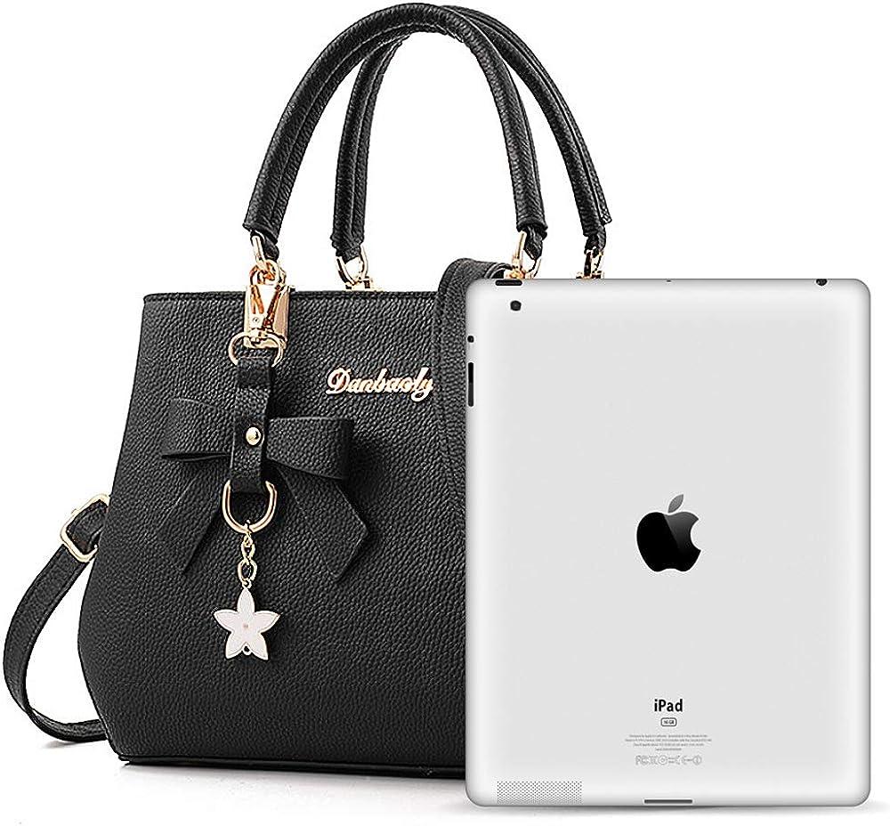 BestoU Handbags for Ladies PU Leather Women Shoulder Handbag and Purse
