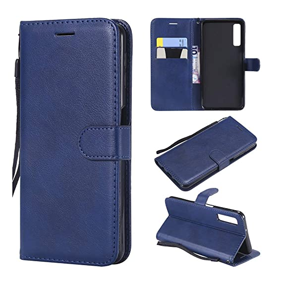 new styles 57dee d0c67 Samsung Galaxy A7 Wallet Case, A7 2018 Case, Premium Leather [Kickstand &  Magnetic Closure] [Card Slot] Flip Cases Accessories for Samsung Galaxy A7  ...