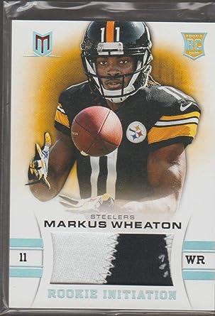 Amazon.com: 2013 Panini Momentum Markus Wheaton Steelers 42/49 ...